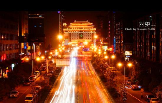 朱雀大街,曾是盛唐时期长安城的中轴线