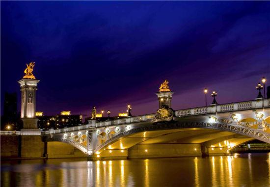 天津北安桥(来源:网络)-天津夜景是什么颜色 盘点津城出名夜景地