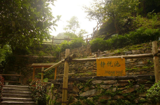 龙胜温泉景区一景 图:新浪博主/南溪新霁