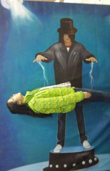 一个神奇的魔术:你可以瞬间力大无穷,可以也瞬间会悬浮艺术.