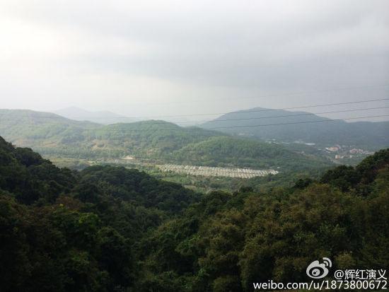 帽峰山(via@辉红演义)