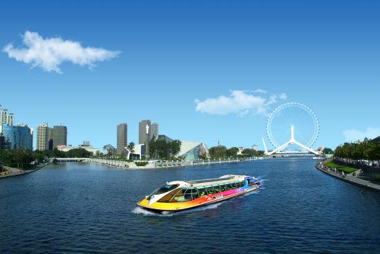 海河游船是天津旅游的一大特色游玩方式(来源:新浪天津旅游)