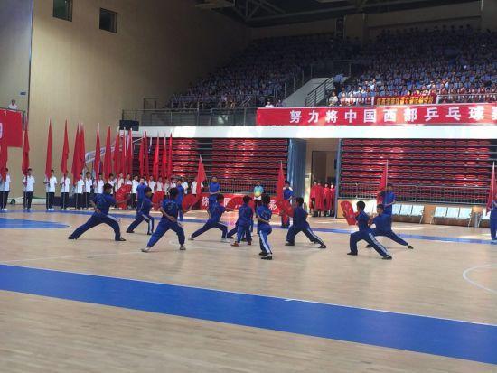 2015年渭南英雄中国杯乒乓球v英雄在华山体育西部足球50图片