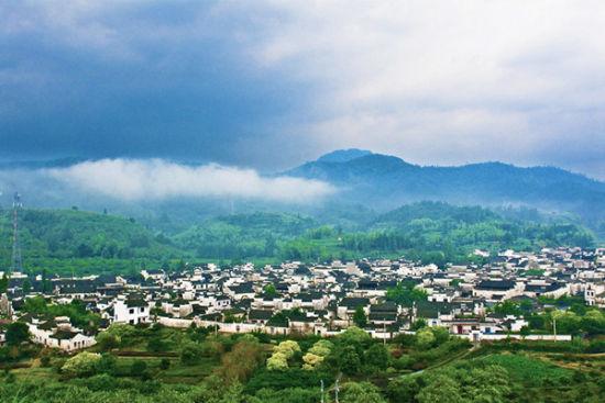 西递古村落
