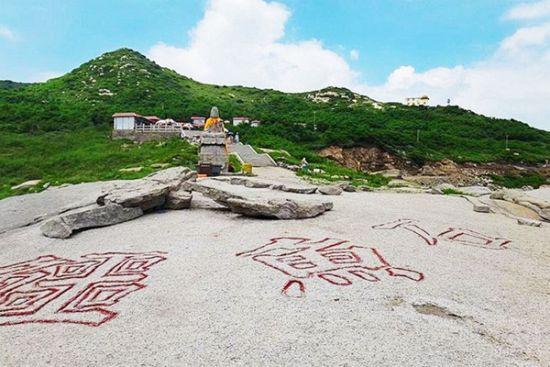 觉华岛也是一座佛岛
