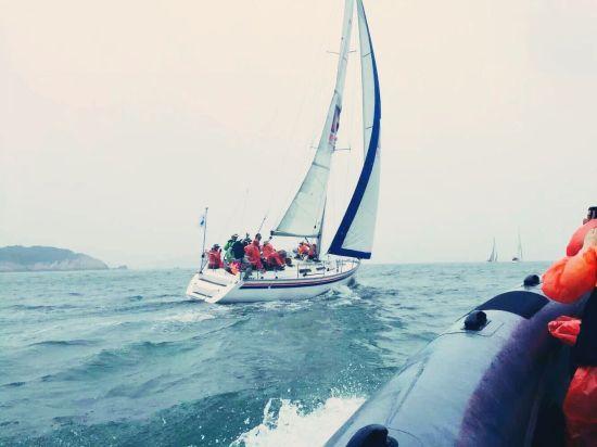 舟山举办东海帆船节 打造海岛特色休闲旅游