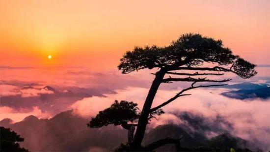 日出,三清山星空也是极美的。看过三清山星空的人 ...