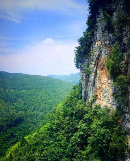 景色宜人的金刀峡