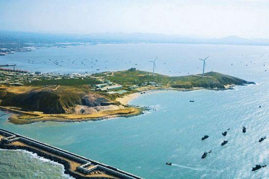 三面环海的仙人岛