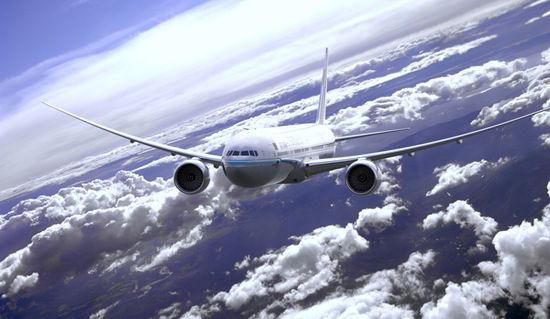 波音777-300ER延程型宽体客机