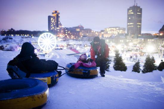 户外玩雪 来源:魁北克省旅游局