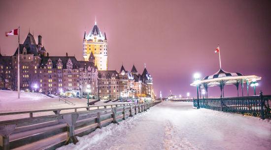 童话白雪世界 来源:魁北克省旅游局