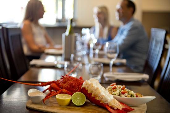 图注:龙虾大餐 来源:南澳大利亚旅游局