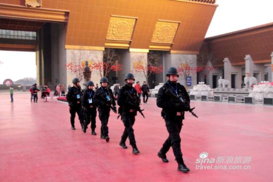 法门寺为游客创造了安全有序的旅游环境