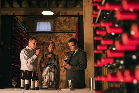 图注:奔富玛吉尔庄园品酒 来源:南澳大利亚旅游局