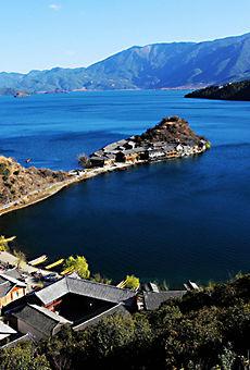 美丽泸沽湖