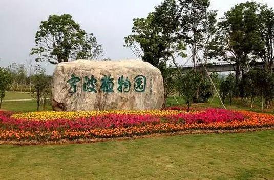 宁波植物园 陌上花开