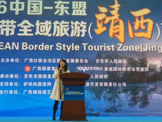 云南省旅游投资有限公司董事长李梅发言