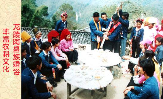 农耕文化的龙陵阿  昌族婚俗