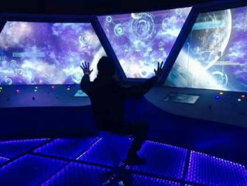 创意密室逃脱在哪里 首家星际主题太空探险落户馆图片