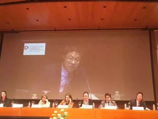 卓锐科技联合创始人鲍海勇博士在论坛上发言