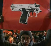 希腊民众抗议