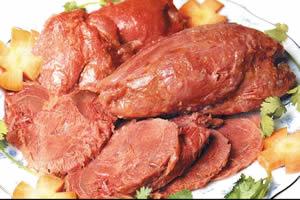 五香果汁牛肉