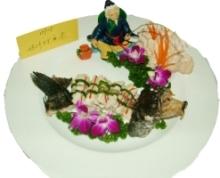 鸡汁仙鱼卷