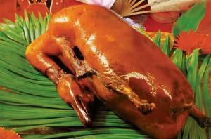 北京烤鸭和填鸭
