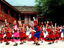 长阳巴山舞