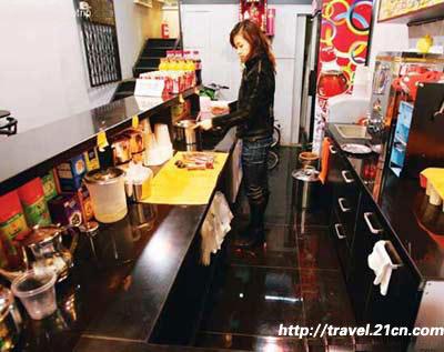 北京:香港新电铁 京城最正宗的香港奶茶(图)