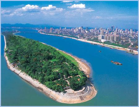 橘子洲华丽变身 拟打造国家5A级风景区(图)