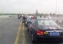 车队前往回乡文化园