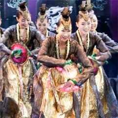 2010华克山庄大型原创韩国传统秀