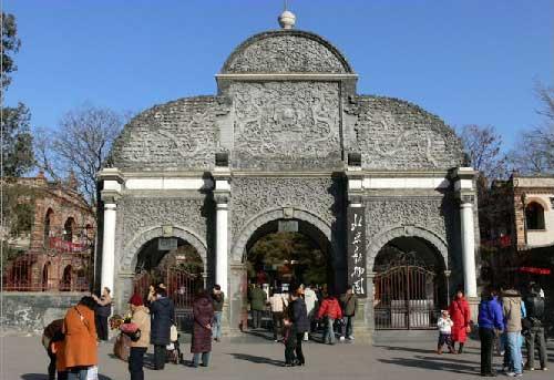北京动物园园区图