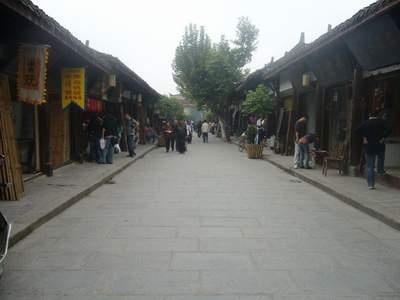 巴蜀古建筑的实物宝库:阆中古街巷(图)图片