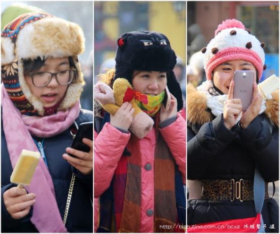 冬天到哈尔滨穿什么?中央大街告诉你