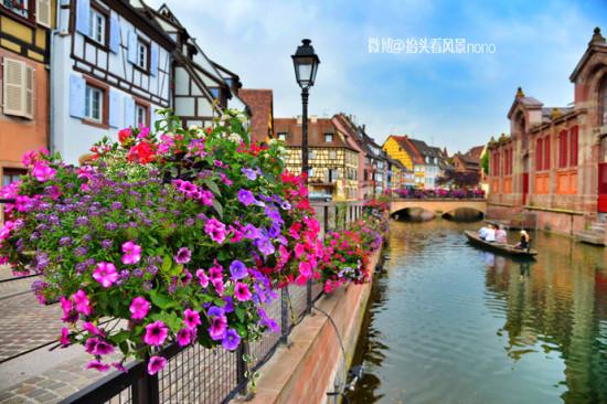 法国科尔马 记忆深处的童话小镇
