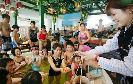 日本另类温泉大盘点:蜂蜜温泉(图)