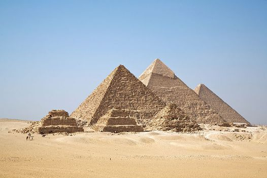 世界4大巨石遗迹:金字塔(组图)