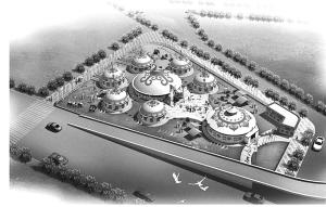 世界旅舍现雏形 首条宾馆特色街局部建成(图)