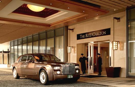 The Ritz Carlton酒店:号称日本顶级酒店(组图)