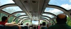 全视角列车:轨道上的奢华