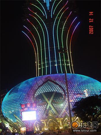 新葡京酒店夜景