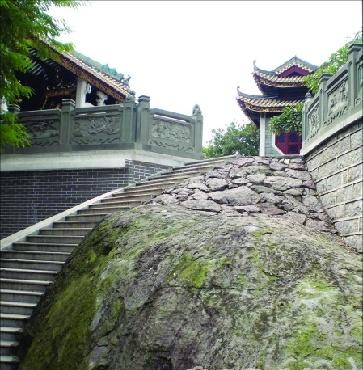 广州闹市有座古火山 网友盛传此地阳气十足