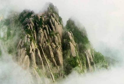 黄山游览指引 玉屏景区