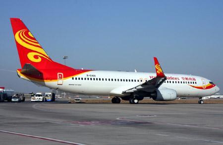 波音737-800新装