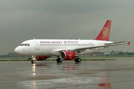 着陆的空中客车A320