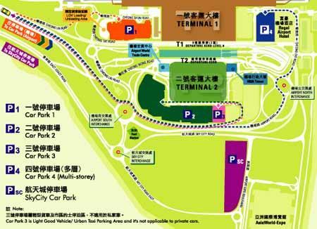 香港机场 停车场;; 香港赤鱲角国际机场停车场位置图_新浪旅游_新浪网