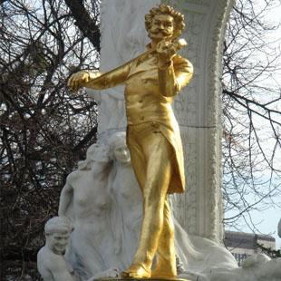 施特劳斯雕像